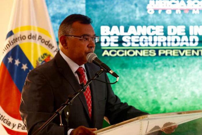 Min Interior asegura que se redujo en 20% incidencia delictiva