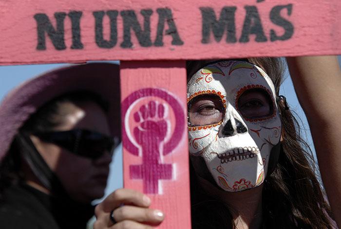 Asesinaron a 7.5 mujeres al día en 2016