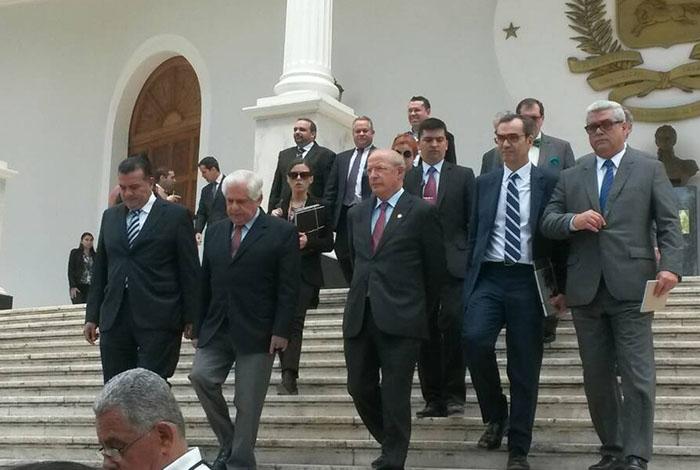 Canciller Arreaza se reúne con su homólogo de Portugal