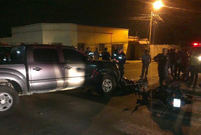 Conductor de programa Zurda Conducta atropelló a cuatro bomberos en Barquisimeto