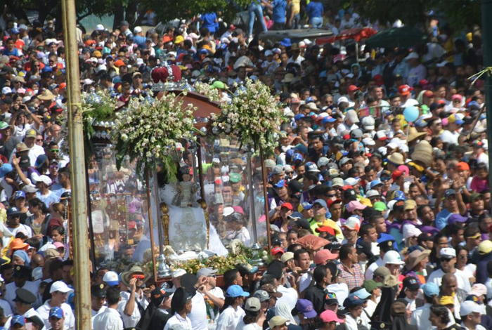 10 mil funcionarios se desplegarán para procesión de la Divina Pastora