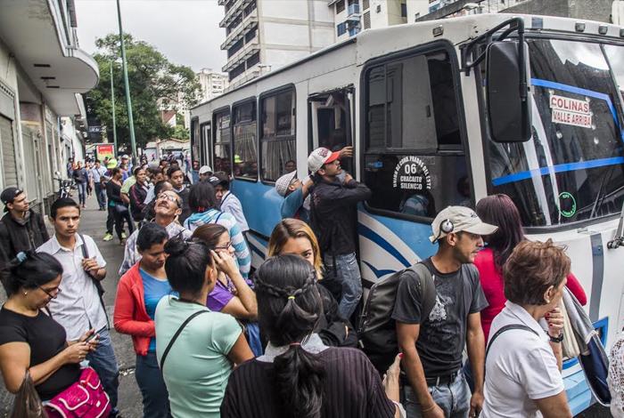 Así amaneció la Gran Caracas por el paro de transporte