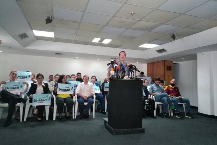 Voluntad Popular respalda validar tarjeta unitaria de la MUD