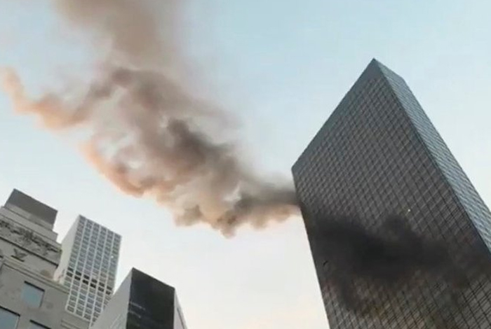 Incendio en la Trump Tower de Nueva York — EEUU