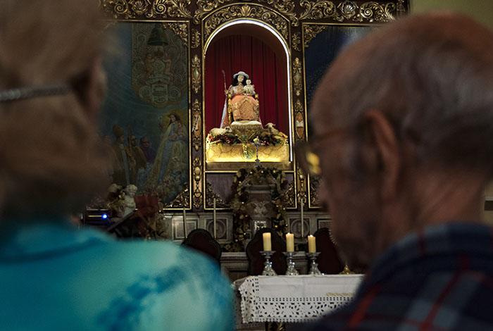 La Divina Pastora estrenará traje donado por la Zona Pastoral Espíritu Santo