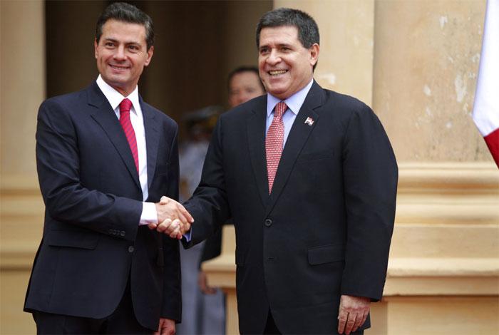 Llega EPN a Paraguay para visita oficial