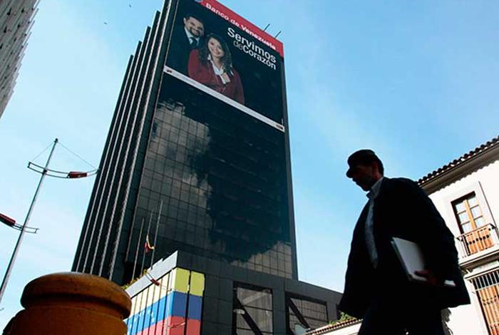 Por fallas eléctricas Banco de Venezuela suspende temporalmente todos sus servicios