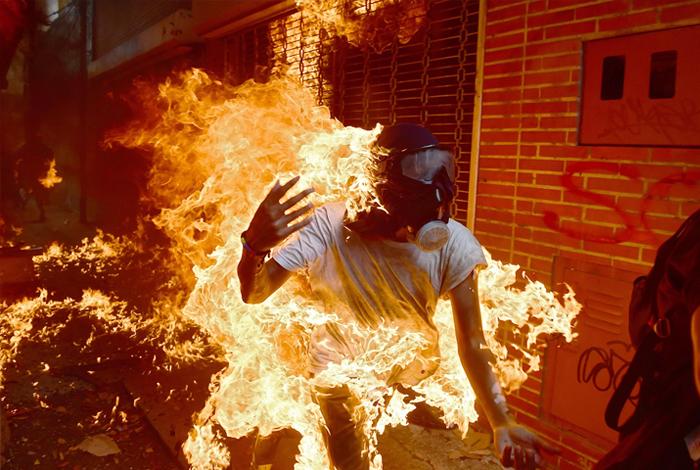 Fotografía tomada por un venezolano podría ser