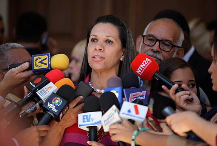 Mariela Magallanes está refugiada en la embajada de Italia — CNN
