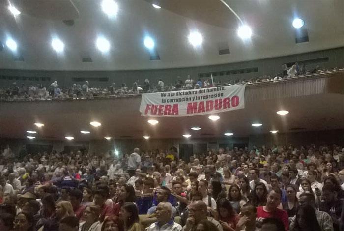 #EnVivo desde la UCV: Gremios se unen para crear el Frente Amplio