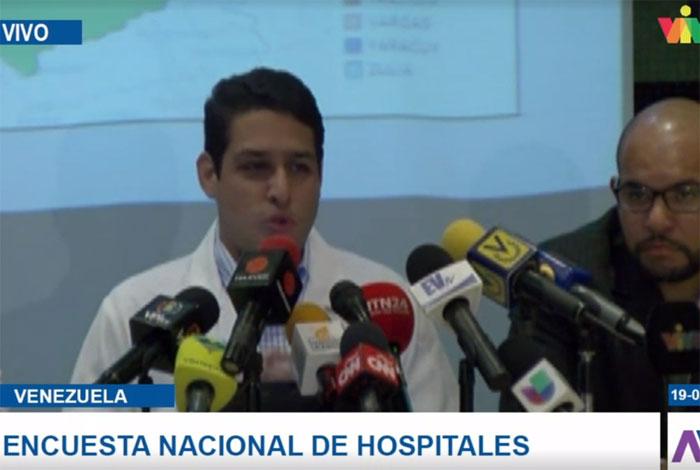 Olivares: 53% de los pabellones del país están inoperativos