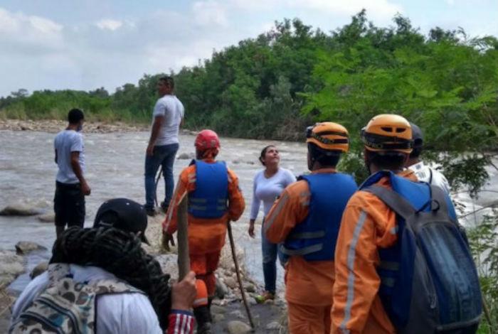 Sin identificar los cuerpos de personas ahogadas en el río Táchira