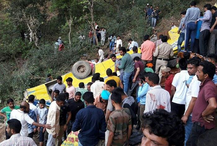 ¡Tragedia! Mueren 27 niños, cayeron en un desfiladero