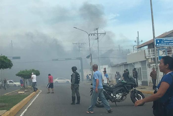 Ministro de Electricidad denuncia sabotaje en incendio de subestación en el Zulia