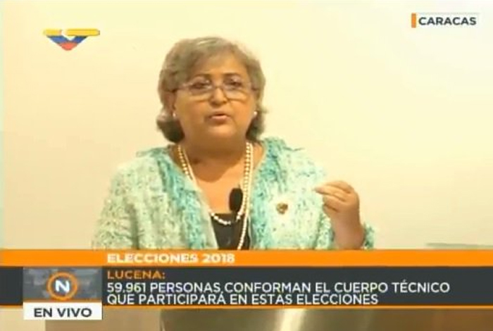 Lucena: Estamos ante una gran violencia internacional contra elecciones del #20Mayo