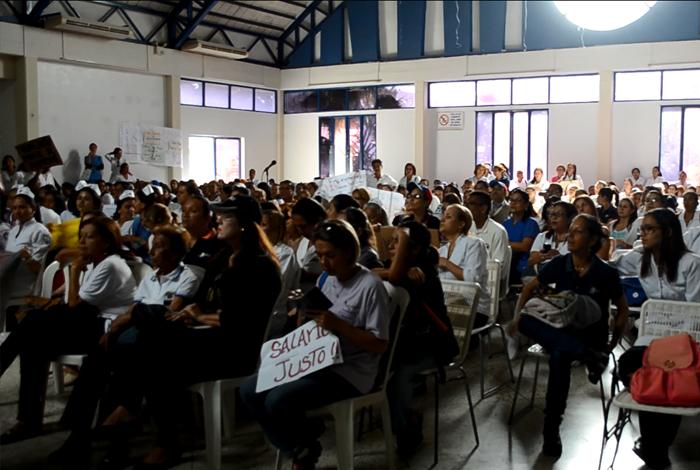 Asamblea sector salud 1