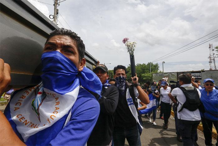 Gobierno de Nicaragua celebra avance en la 'liberación' de barricadas opositoras