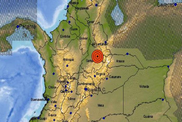 Sismo de 6.1 estremeció a Colombia, sin víctimas hasta el momento