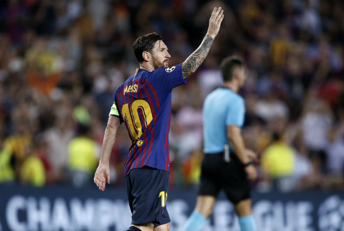 Barcelona goleó al PSV con hat-trick de Messi en Champions