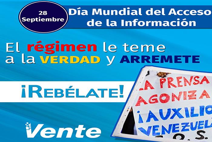 Coordinador de vente venezuela se solidariza con el portal for La patilla nacionales
