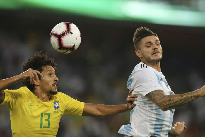 Brasil vence 1-0 a Argentina en juego amistoso