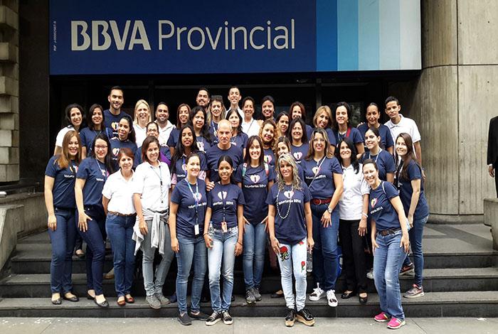 #PulsoEmpresarial BBVA Provincial brinda solidaridad en la Semana Global del Voluntariado