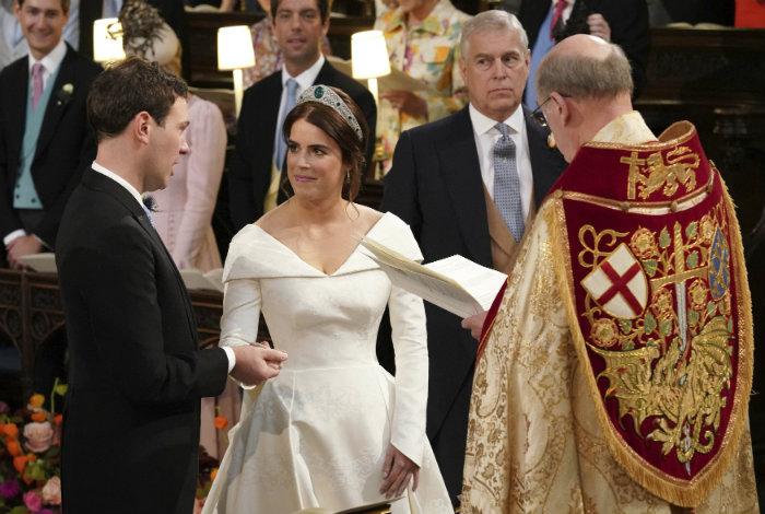 La princesa Eugenia se casó en el Castillo de Windsor #12Oct