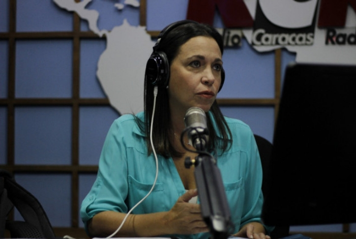 Juan Guaidó agradeció apoyo de María Corina Machado