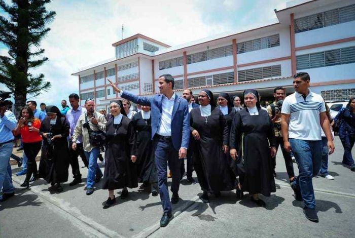 Guaidó: Nicolás Maduro está disociado #24May