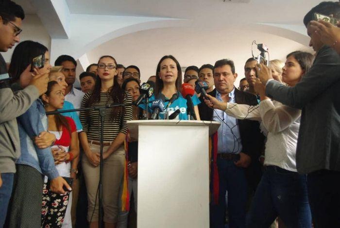 María Corina Machado: ¿Qué más hay que esperar? ¿Qué nos fusilen a todos? #24May