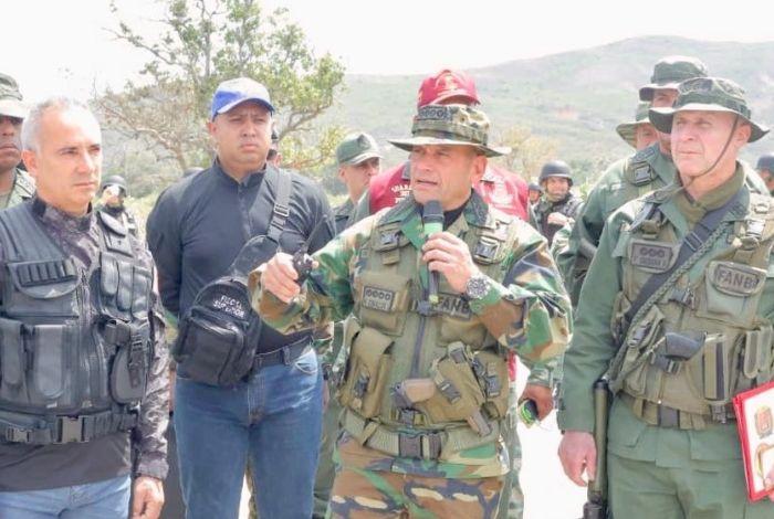 Con 3.500 efectivos, Venezuela realizó ejercicios militares en frontera con Colombia