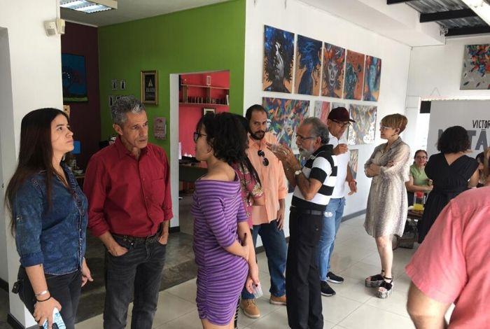 #CulturaIMP Víctor Asuaje regresa a Barquisimeto con sus retratos metálicos #7Nov - El Impulso