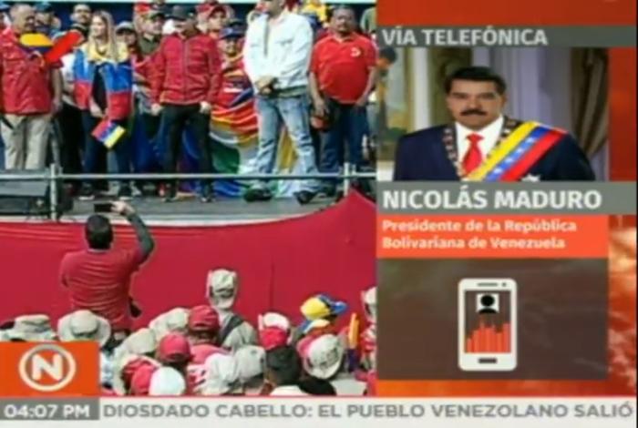 Constituyente venezolano anuncia marchas en apoyo al Gobierno