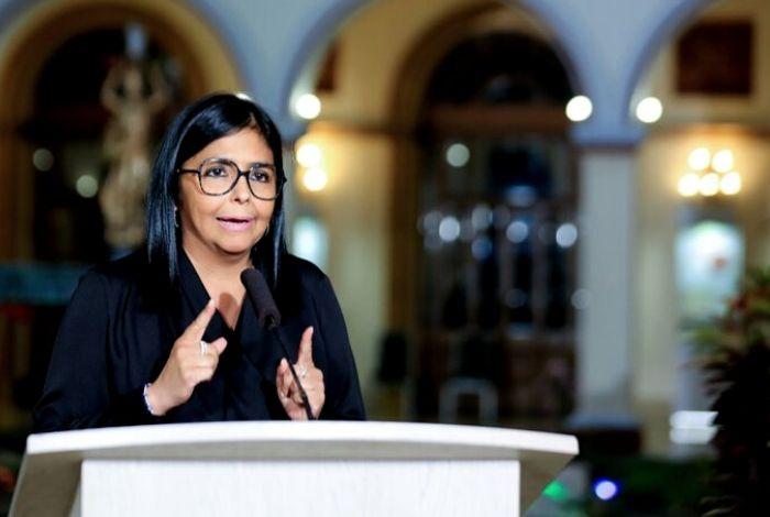 Nación Delcy Rodríguez anuncia primer fallecido por coronavirus en Venezuela