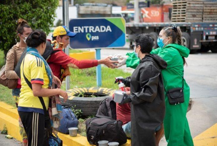 Uno de cada cuatro venezolano migrante no tiene dinero para comer #29May