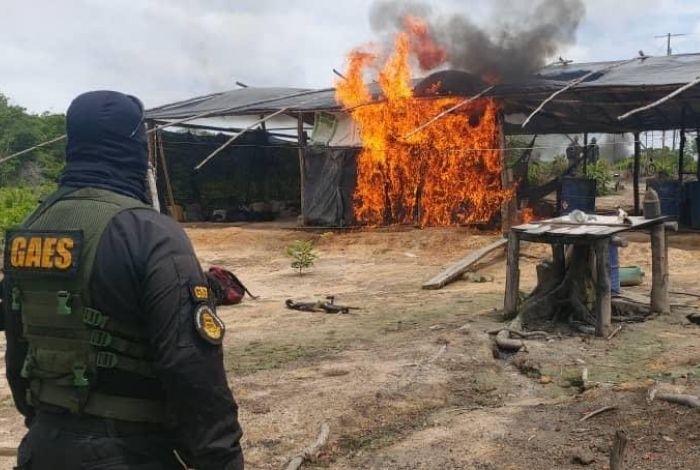 En Venezuela desmantelan laboratorios para procesamiento de drogas (+Fotos)