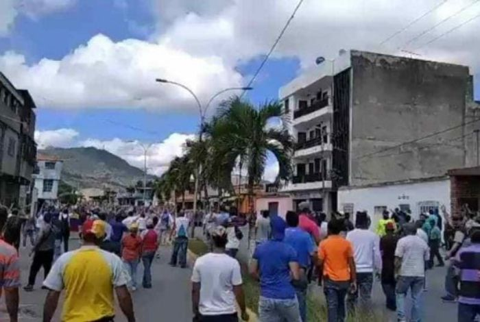 Cinco detenidos durante protestas en Venezuela