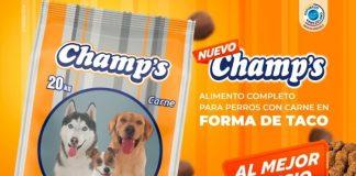 Champs, el nuevo alimeto para mascotas