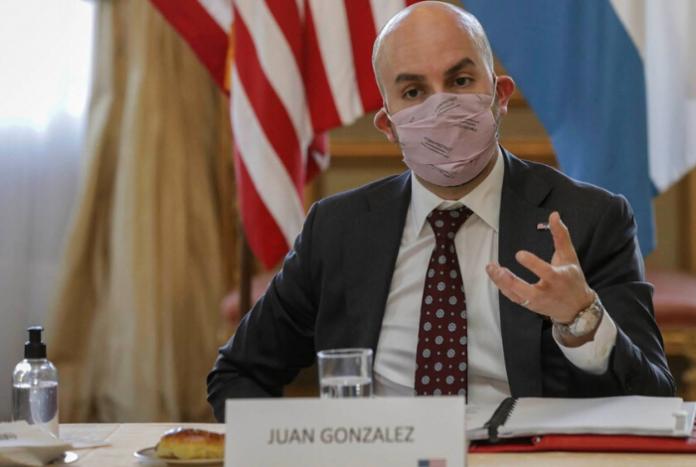 Juan Gonzalez, gobierno de Joe Biden